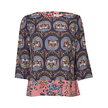 Buy White Stuff Dreaming Butterfly Top, Multi Online at johnlewis.com