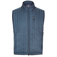 Buy Hackett London Channel Gilet, Navy Online at johnlewis.com