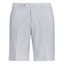 Buy Hackett London Nautical Stripe Cotton Shorts, Navy/White Online at johnlewis.com