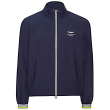 Buy Hackett London Aston Martin Racing Lightweight Jacket, Navy Online at johnlewis.com
