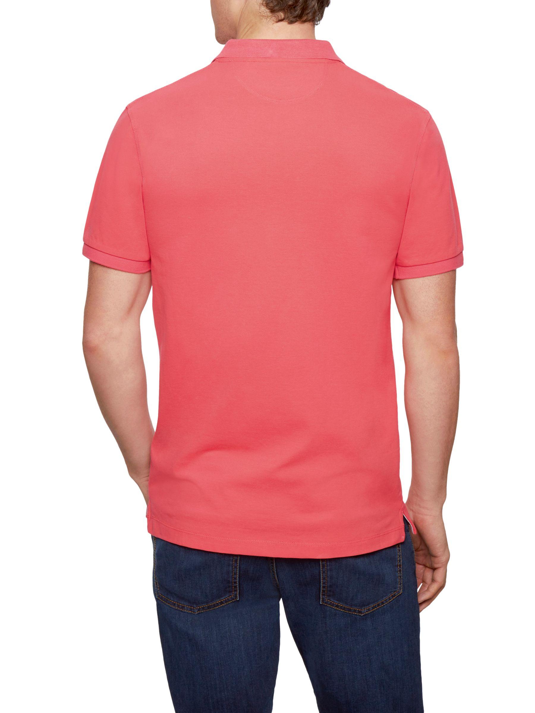 Hackett London Hackett London New Classic Number Polo Shirt