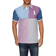 Buy Hackett London Quad Block Short Sleeve Polo Shirt Online at johnlewis.com