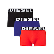 Buy Diesel Shawn Trunks, Pack of 3 Online at johnlewis.com