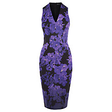 Buy Karen Millen Scattered Floral Print Dress, Multi Online at johnlewis.com