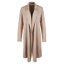Buy Marc Cain Suedette Coat, Rose Taupe Online at johnlewis.com