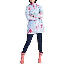 Buy Joules Right as Rain Golightly Pack Away Waterproof Parka, Sky Blue Orchid Online at johnlewis.com