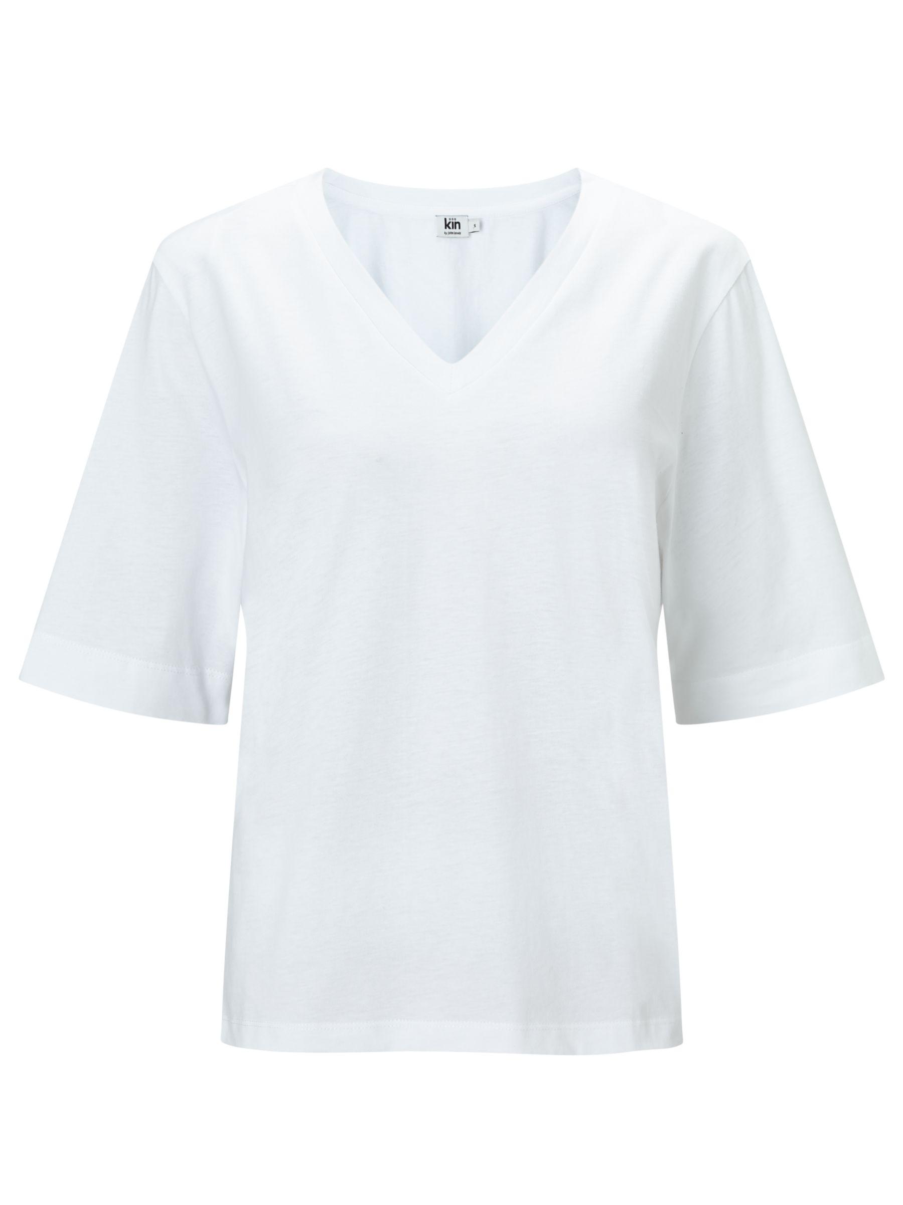 Kin by John Lewis Kin by John Lewis Basic T-Shirt, White