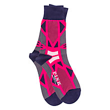 Buy Thomas Pink Cooper Abstract Pattern Socks Online at johnlewis.com