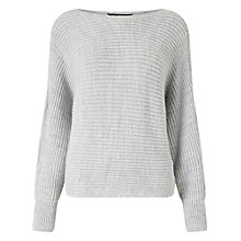 Buy Miss Selfridge Slouchy Cut Out Jumper Online at johnlewis.com