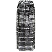 Buy Celuu Pleated Maxi Skirt, Multi Online at johnlewis.com