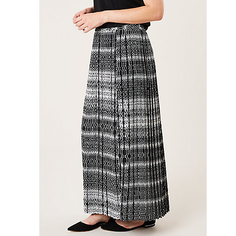 buy celuu pleated maxi skirt multi lewis
