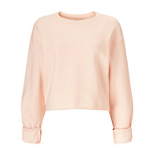 Buy Miss Selfridge Cropped Jumper, Nude Online at johnlewis.com