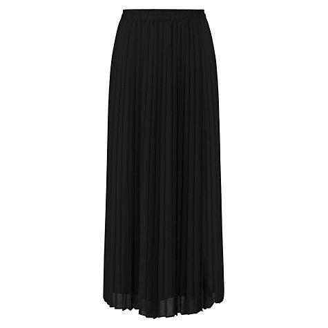 buy celuu pleated maxi skirt black lewis