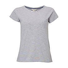 Buy White Stuff Poets Stripe Jersey T-Shirt, Navy Online at johnlewis.com