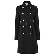 Buy L.K. Bennett Audrey Coat, Black Online at johnlewis.com