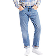 Buy Levi's 501 Original Straight Jeans, Balboa Strong Online at johnlewis.com