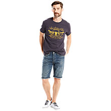 Buy Levi's 501 Hemmed Shorts, Destiny Street Online at johnlewis.com