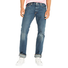 Buy Levi's 501 Original Straight Jeans, Cassius Strong Online at johnlewis.com