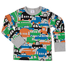 Buy Polarn O. Pyret Baby Car Print Top Online at johnlewis.com