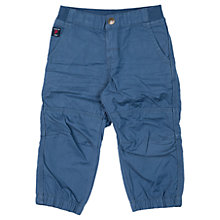 Buy Polarn O. Pyret Baby Cargo Trousers, Blue Online at johnlewis.com