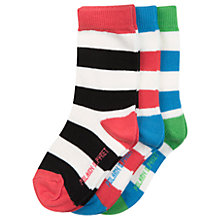 Buy Polarn O. Pyret Baby Striped Socks, Assorted Online at johnlewis.com