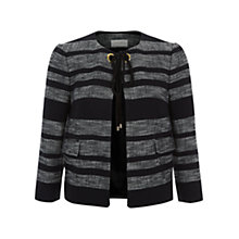 Buy Hobbs Tulisa Jacket, Black/Multi Online at johnlewis.com
