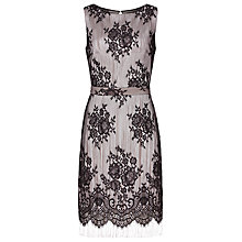 Buy Reiss Eleonora Lace Tassel Dress, Black Online at johnlewis.com