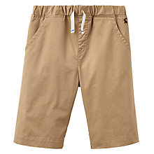 Buy Little Joule Boys' Junior James Shorts, Sand Online at johnlewis.com