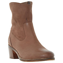 Buy Dune Pocket Block Heeled Ankle Boots Online at johnlewis.com