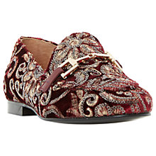 Buy Dune Guru Buckle Loafers, Multi Online at johnlewis.com
