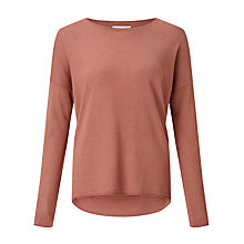 Buy Samsoe & Samsoe Kally Jumper, Light Mahogony Online at johnlewis.com