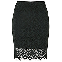 Buy Samsoe & Samsoe Ibi Lace Skirt, Darkest Spruce Online at johnlewis.com