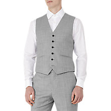 Buy Reiss Harry Modern Fit Waistcoat, Grey Online at johnlewis.com