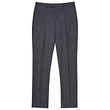 Buy Reiss Host Salt and Pepper Modern Fit Suit Trousers, Navy Online at johnlewis.com