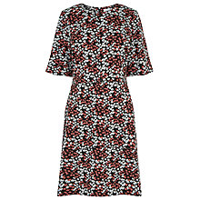 Buy Warehouse Sweet William Ponte Dress, Multi Online at johnlewis.com