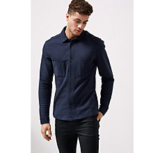 Buy Selected Homme Milas Sweat Long Sleeve Shirt Online at johnlewis.com
