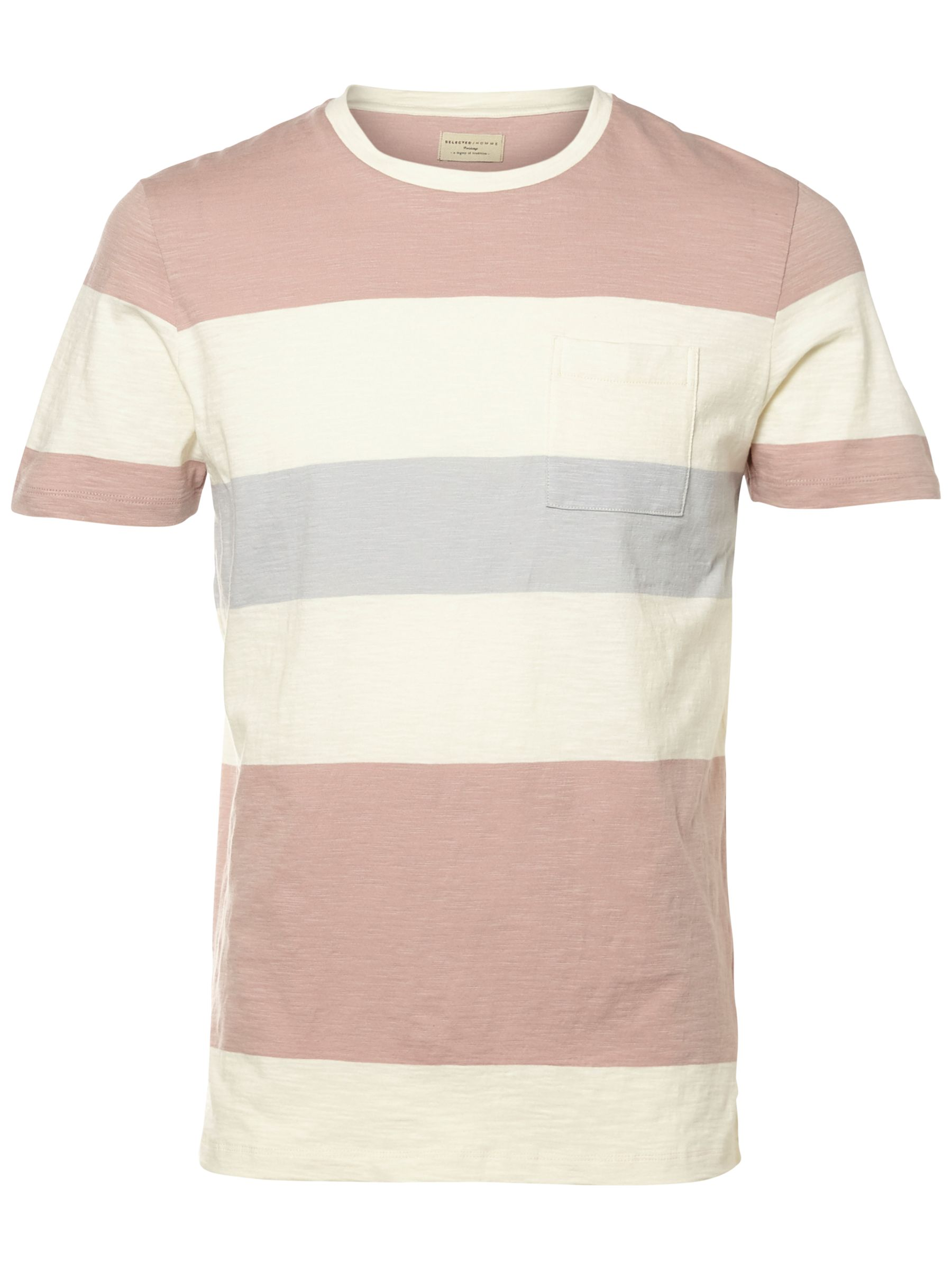 Selected Homme Selected Homme Rune Wide Stripe T-Shirt