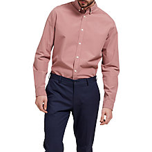 Buy Selected Homme Louis Long Sleeve Shirt, Burlwood Online at johnlewis.com