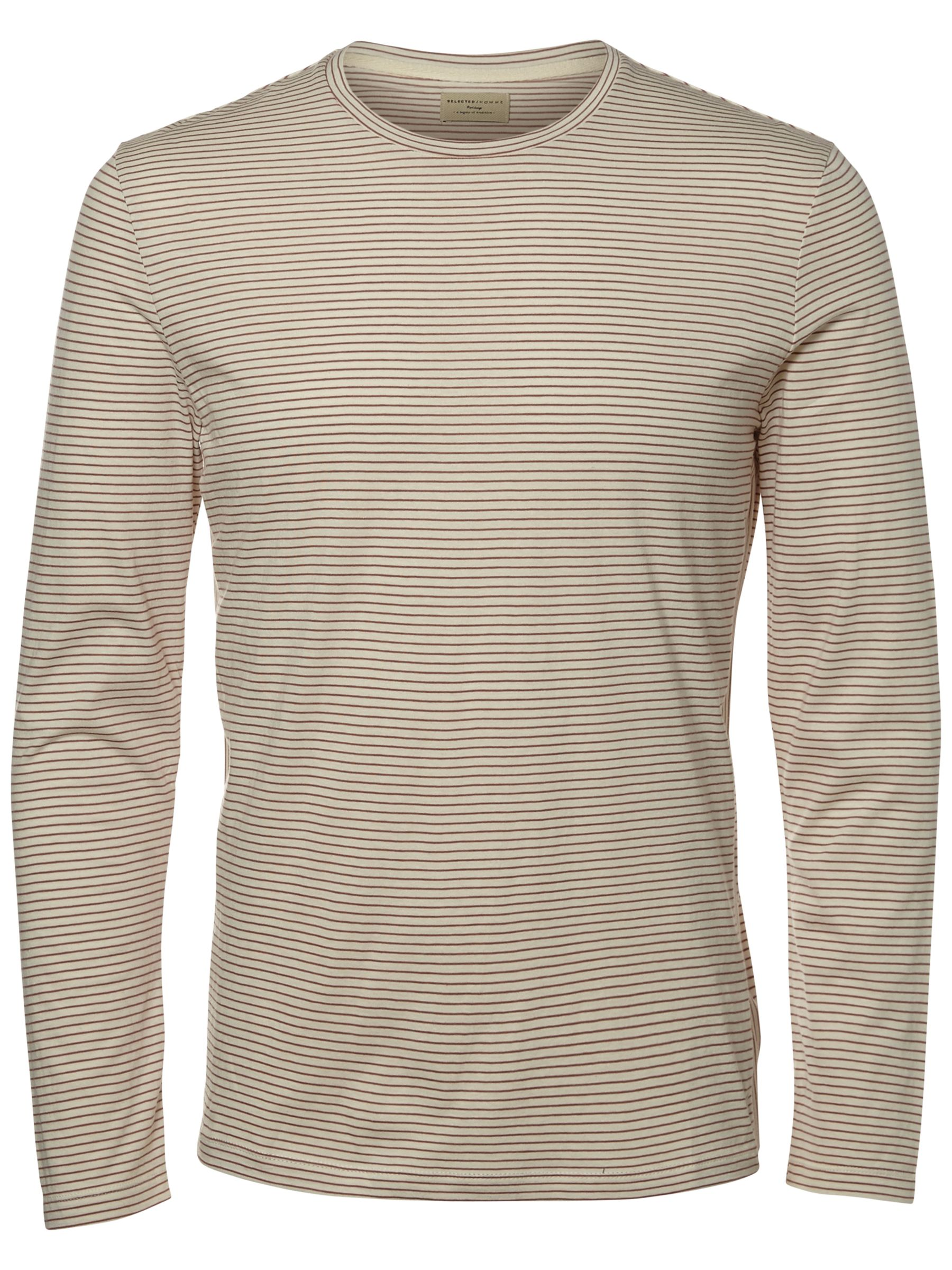 Selected Homme Selected Homme Heritage Long Sleeve Striped T-Shirt