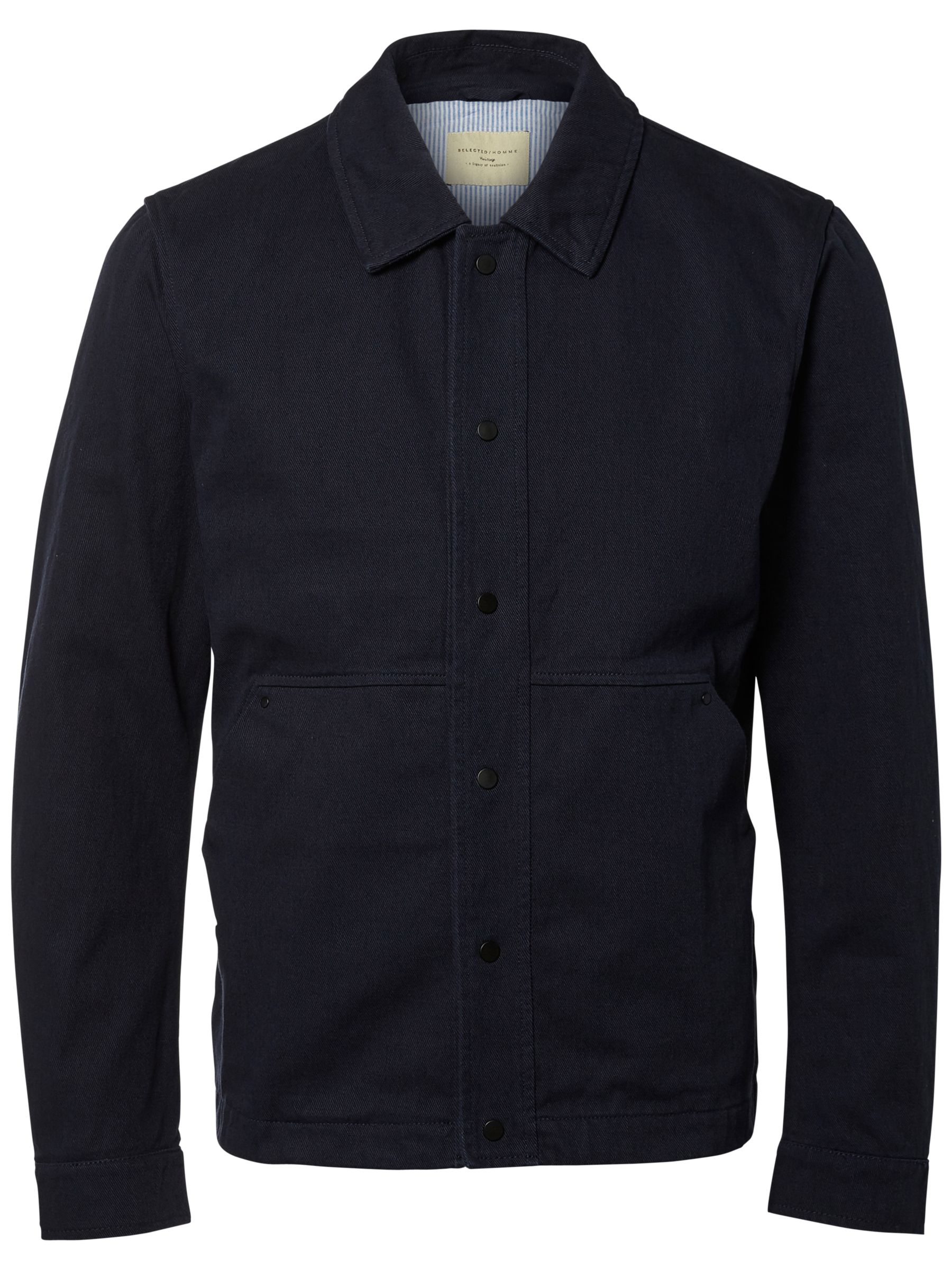 Selected Homme Selected Homme James Workwear Jacket, Dark Sapphire