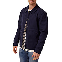 Buy Selected Homme James Workwear Jacket, Dark Sapphire Online at johnlewis.com