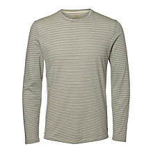 Buy Selected Homme Heritage Long Sleeve Striped T-Shirt Online at johnlewis.com