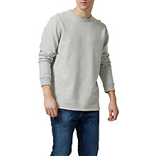 Buy Selected Homme Tobias Crew Neck Sweatsirt Online at johnlewis.com