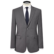 Buy J. Lindeberg Comfort Stretch Wool Slim Suit Jacket, Grey Melange Online at johnlewis.com