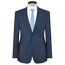 Buy J. Lindeberg Comfort Stretch Wool Slim Suit Jacket, Teal Online at johnlewis.com
