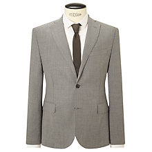 Buy J. Lindeberg Slim Fit Basketweave Travel Blazer, Grey Melange Online at johnlewis.com