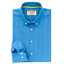 Buy Thomas Pink Healy Classic Fit Shirt, Blue/Yellow Online at johnlewis.com