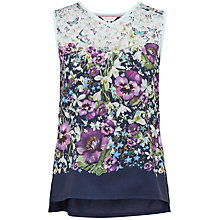 Buy Ted Baker Enchantment Vest T-Shirt, Dark Blue Online at johnlewis.com