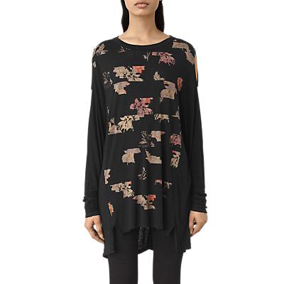 AllSaints Arosa Aino T-Shirt, Black