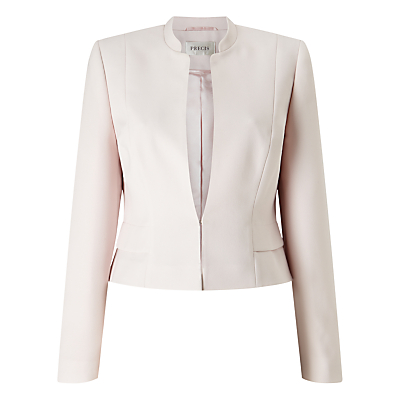 Precis Petite Amelia Cropped Jacket, Light Pink